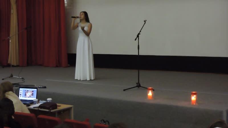 Ксения Журавлёва. Песня Баллада о матери.