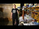 Мощная катушка Тесла с использованием Качера Бровина