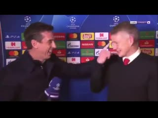 From sitting next to each other in the changing rooms for 11 years to having banter after a historic win in Paris mufc