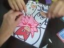 Рисуем цветным песком