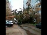 Мощный ураган накрыл Центральную Россию