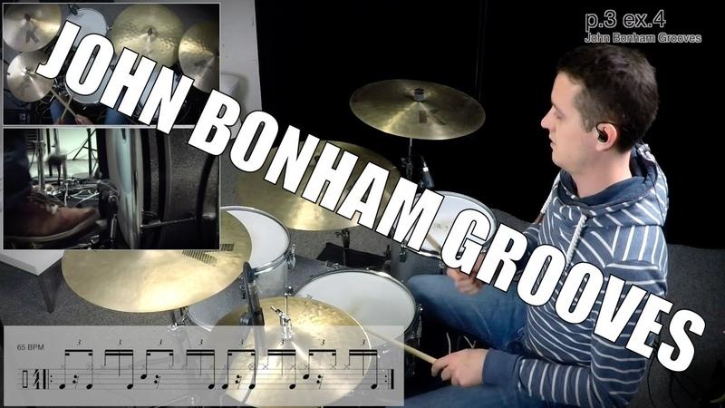 Top 5 John Bonham Grooves - Daily Drum Lesson