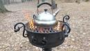 МАНГАЛ ИЗ АВТОМОБИЛЬНОГО ДИСКА   Amazing Barbecue Wheel Grill Diy