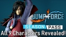 Jump Force - All 9 DLC Season Pass Characters Revealed! Discussion