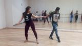 Walter Fernandes and Oksana Andreeva - Zouk Demo (level 4)