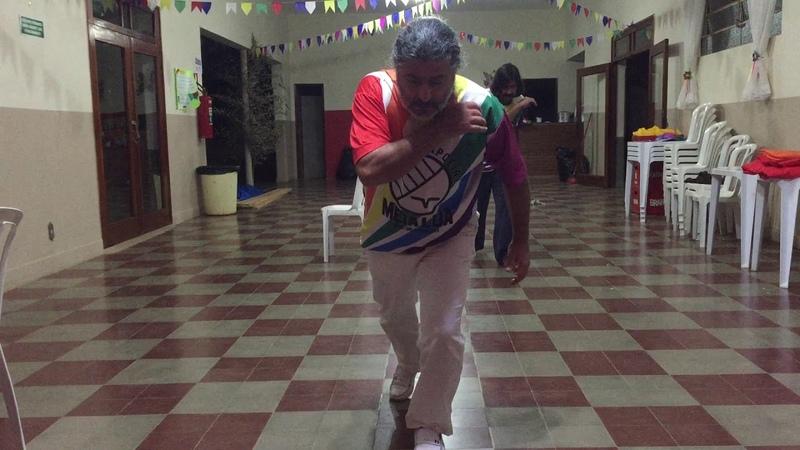 UNICAPOEIRA: Grupo Meia Lua/26abr62. Clube Cultural Tiguera. Mestres Polêmico e Pintor. Tr2. 09jul18