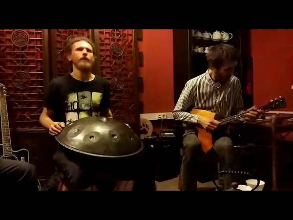 Концерт Три Панды и Луна Чайная студия на Васильевском/Improvisation ethno-chill-ambient music