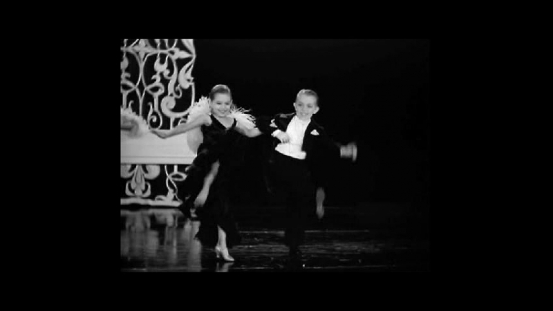 Little People Ballroom Dancing featuring Olive and George Brasno