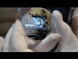Серебряная монета по фильму Терминатор 2 oz Stardust Terminator T-800 Silver Round