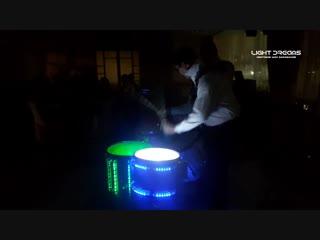 Световое Шоу Барабанов LIGHT DREAMS -1