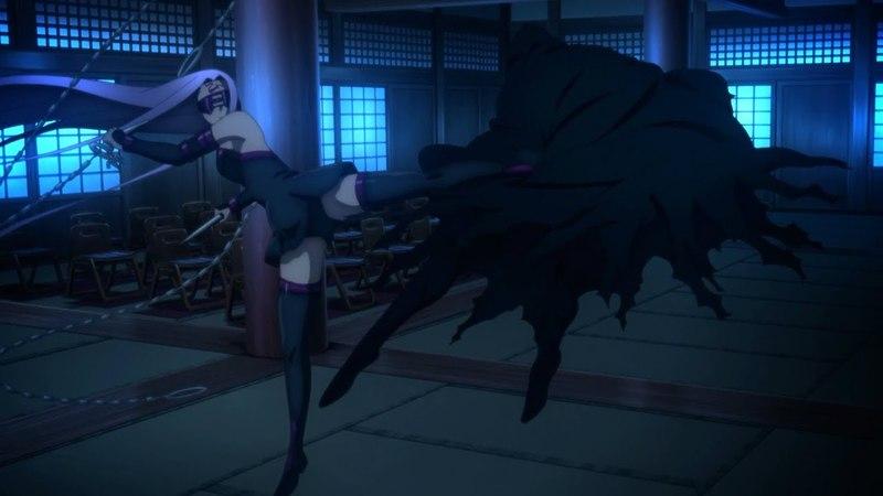 Rider vs. True Assassin - Fate⁄stay night Heavens Feel I. presage flower (2017)