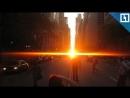 Maнxэттeнxeндж - невероятный закат в Нью-Йорке