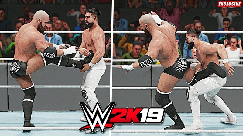 WWE 2K19 Exclusive - NEW Moves Reversals!!