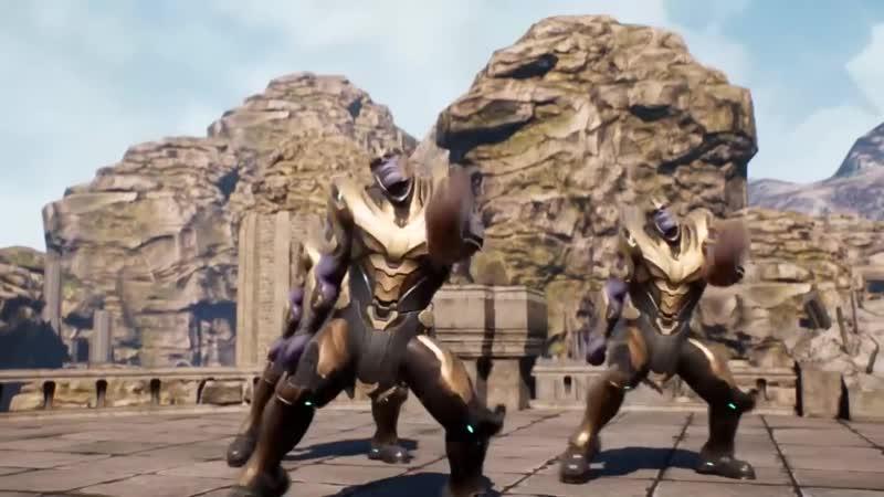 Танец Танос для MARVEL DC HUB