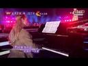 Anastasia Huppmann in Beijing 2019 Silvestergala BeijingTV with Angela 張韶涵 有形的翅膀 Visible Wings