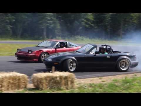 Turbo Miata Drifting - ALMOST TOTALED IT!