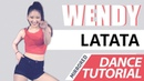 Mirrored DANCE TUTORIAL G I DLE 여자 아이들 LATATA