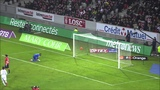 Very Funny Goal Comedy Header in Football Soccer in French Ligue 1 during match Lille vs Reims
