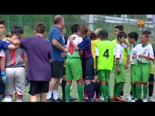 Great gesture from the U14B team in Japan.mp4