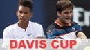 Felix Auger Aliassime vs Martin Klizan Highlights DAVIS CUP 2019