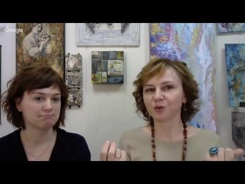 Клубные встречи Wings of Art №24: подарок в стиле микс медиа быстро и легко