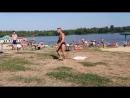 Пляжный бо -дибилдинг