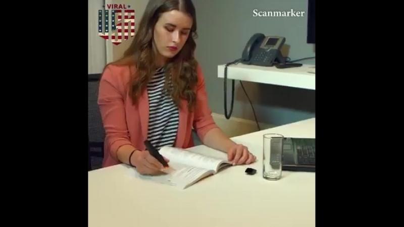 ручка-сканер для текста