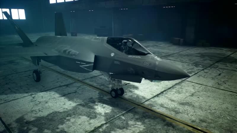 Истребитель F-35C Lightning II в новом трейлере игры Ace Combat 7: Skies Unknown!
