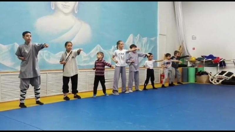 Кунг-фу-дети в Школе Мастера Ши Янбина