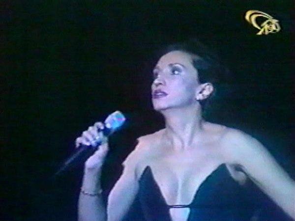 Ирина АЛЛЕГРОВА, ЗАНАВЕС, Шоу-программа Столик на двоих, Луганск, 1998