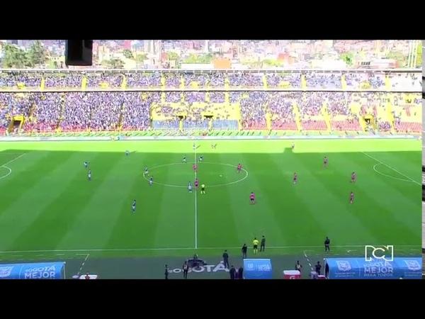 Millonarios vs Boyacá Chicó resumen y goles del empate 2-2 fecha 1 Liga Águila 2018-I