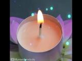 Интересная идея - подставка для свечи - vk.com/tricks_lf