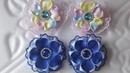 Цветы канзаши Бантики из репса и кружева школьные бантики