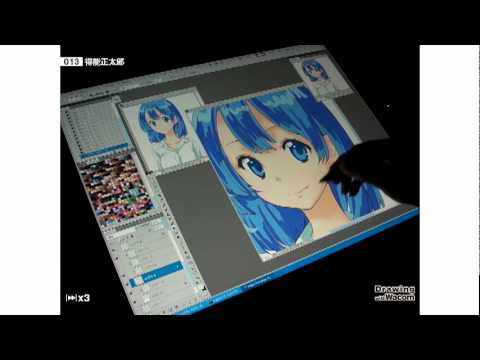 漫画家 得能正太郎 - Drawing with Wacom (DwW)
