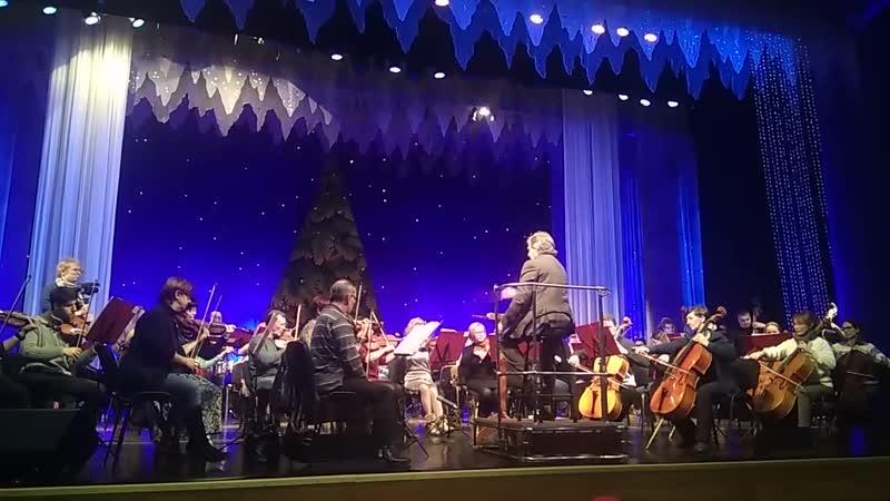 Репетиция концерта «Волшебный вечер с маэстро»