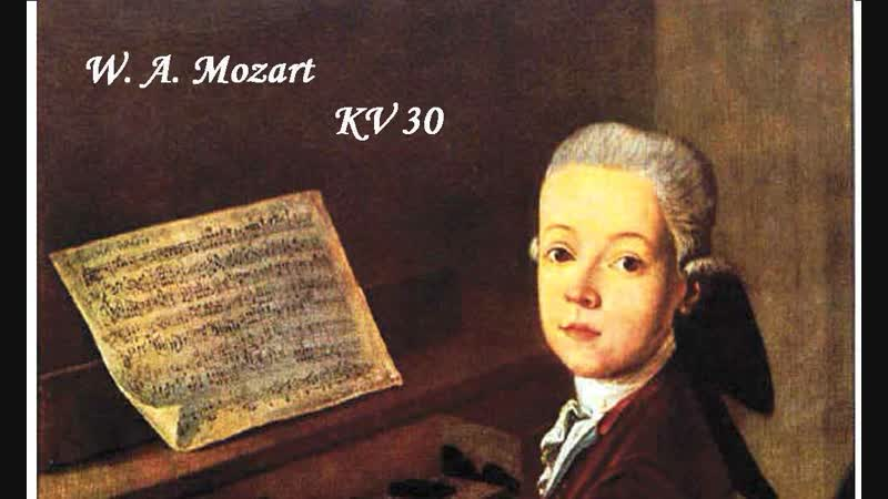 Mozart Sonata KV 30 mit Violine
