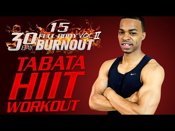45 Min. Extreme Tabata HIIT Tournament Workout | Day 15 - 30 Day Full Body Burnout Vol. 2