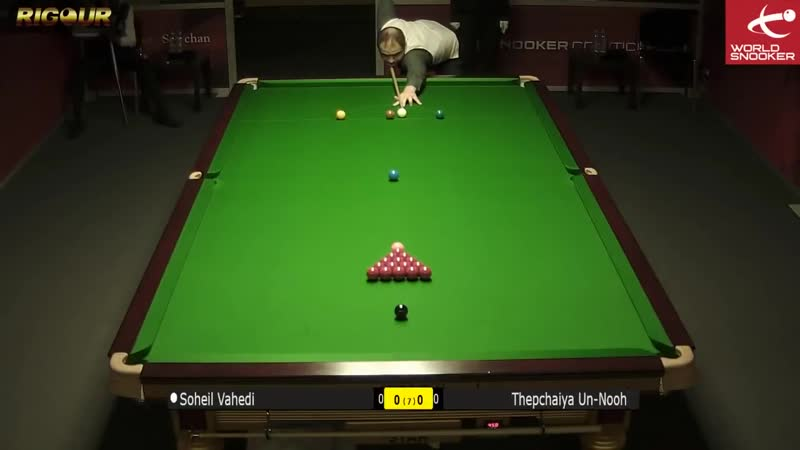 Thepchaiya Un-Nooh 2nd 147 Maximum break!! English Open 2018