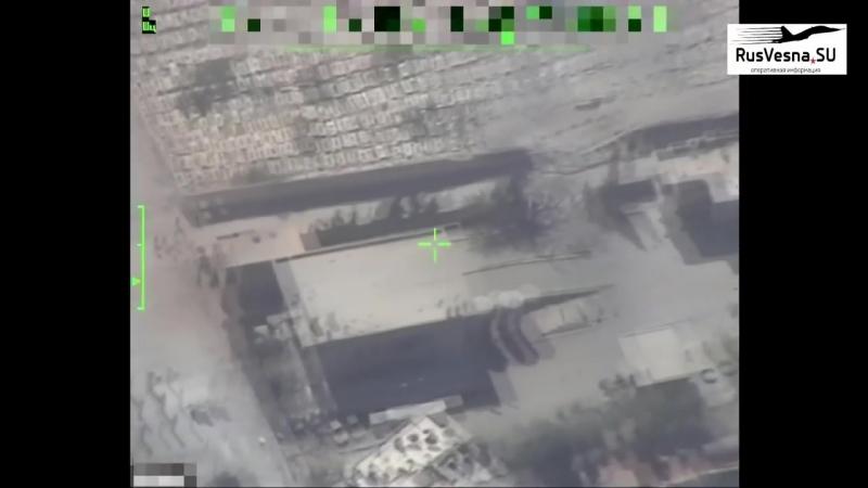 Охота на ИГИЛ _ БПЛА ВКС России выследил 2 отряда боевиков, а Су 34 нанёс удары