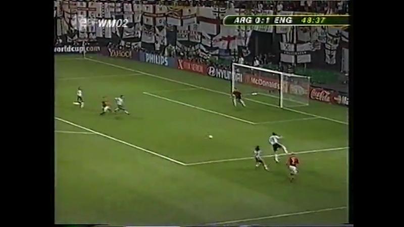 34 ЧМ2002 England - Argentina