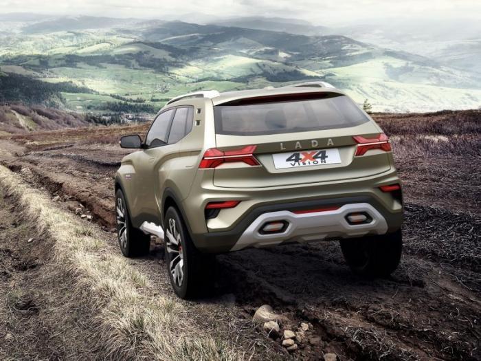 Концепт Lada 4х4 Vision - Нива из будущего