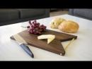 Разделочная доска своими руками Make a Modern Brass Handled Cutting Board