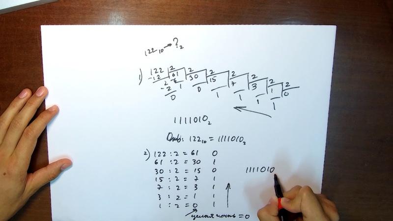 Двоичная система счисления. Урок 1