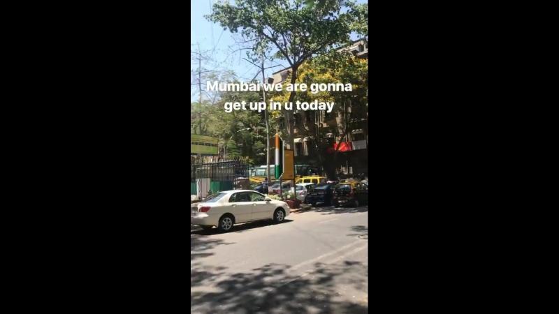 солнечный день в Мумбаи