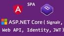 Разработка SPA приложения (как добавить компонент через Angular CLI) Часть 6