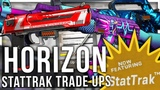 HORIZON CASE STATTRAK TRADE UPS (INSANE LUCK)
