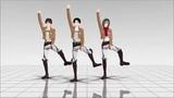 Атака титанов танец MMD Yeah Yeah Yeahs - Heads Will Roll