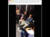 Germany A normal tram ride in #Erfurt, while the usual politicians postulate about the fact that a foreign infiltration of Germ