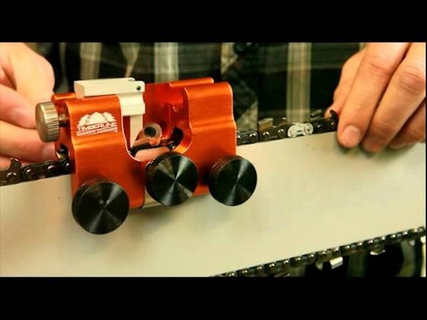 Instruction Timberline Chainsaw Sharpener