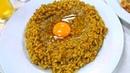 Japanese Food: OMELETTE Tamagoyaki, OMELET Rice Stir-Fried Curry Rice